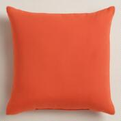 Orange Outdoor Throw Pillows