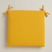 Yellow Outdoor Chair Cushion