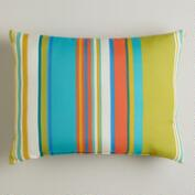 Striped Santorini Outdoor Lumbar Pillow