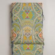 Venice Paisley Outdoor Chaise Lounge Cushion