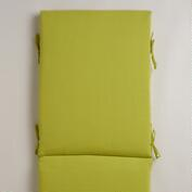 Green Outdoor Chaise Lounge Cushion