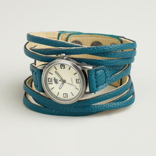Teal Multi-Strand Watch