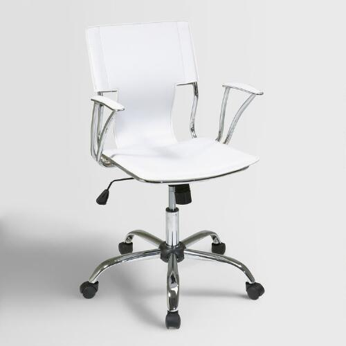 White Ethan Office Chair