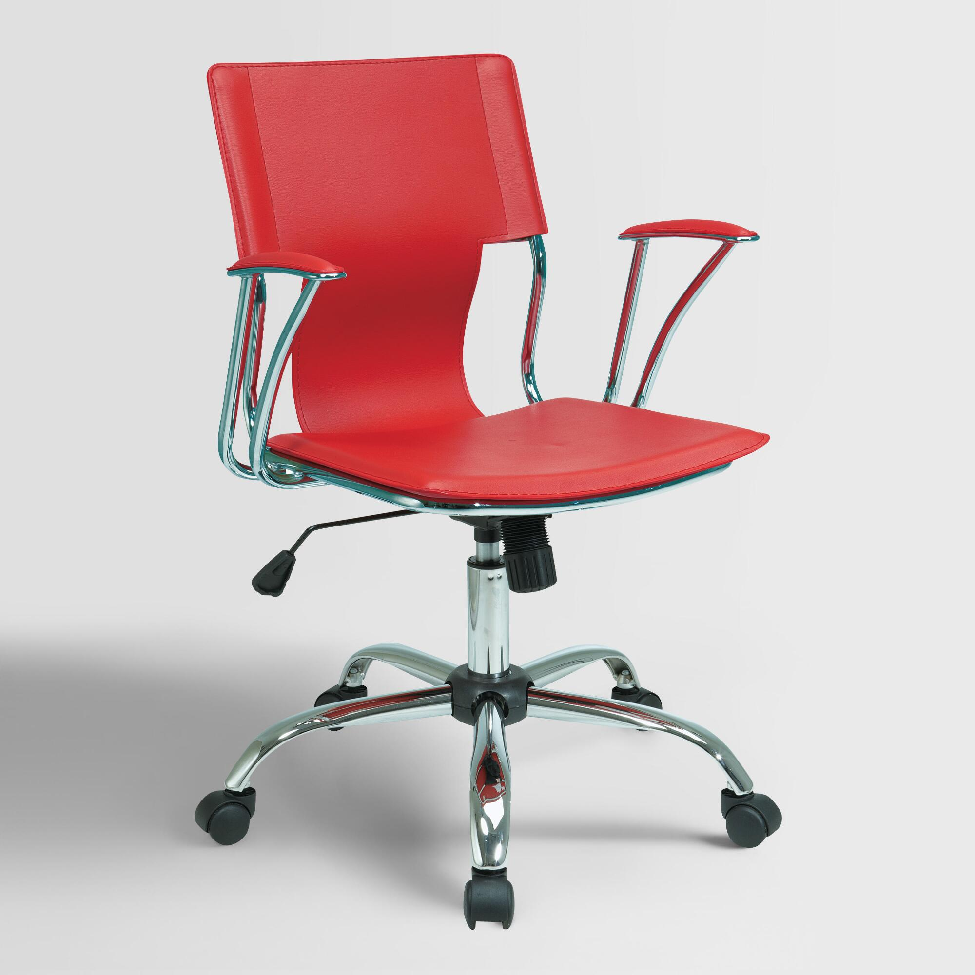 red ethan office chair world market