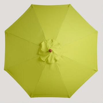 9' Apple Green Umbrella Canopy