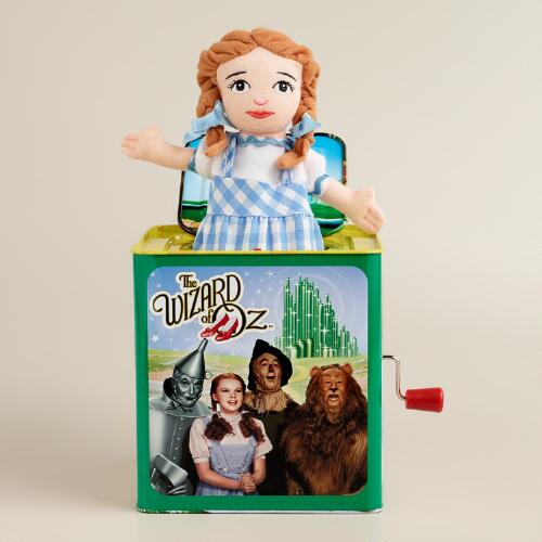Dorothy Wizard of Oz Jack-in-the-Box