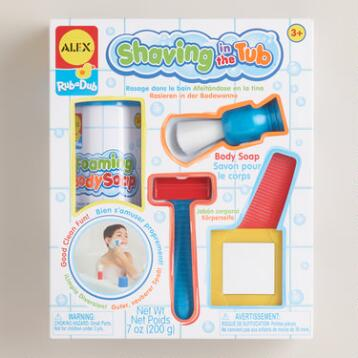 Rub-a-Dub Shaving in the Tub Play Set