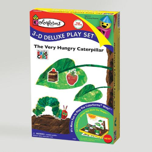 Colorforms The Very Hungry Caterpillar 3-D Deluxe Play Set