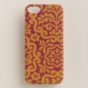 Amber Mosaic iPhone  5 Case
