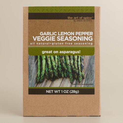 Urban Accents Garlic and Lemon Pepper Vegetable Seasoning