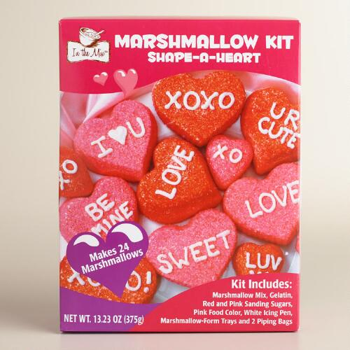 In the Mix Shape-a-Heart Marshmallow Kit, Set of 2