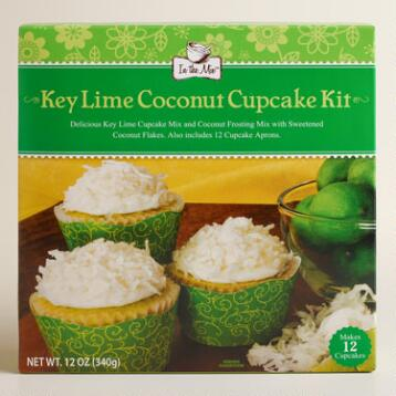In the Mix Key Lime Coconut Cupcake Mix, Set of 2
