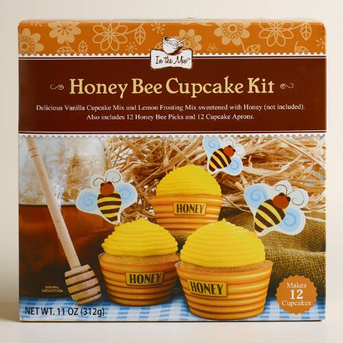 In the Mix Honeybee Cupcake Mix, Set of 2