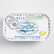Bela Smoked Lemon Sardines, Set of 6