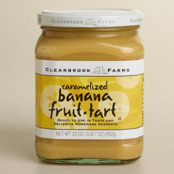Clearbrook Farms Caramelized Banana Cream Fruit Tart Filling