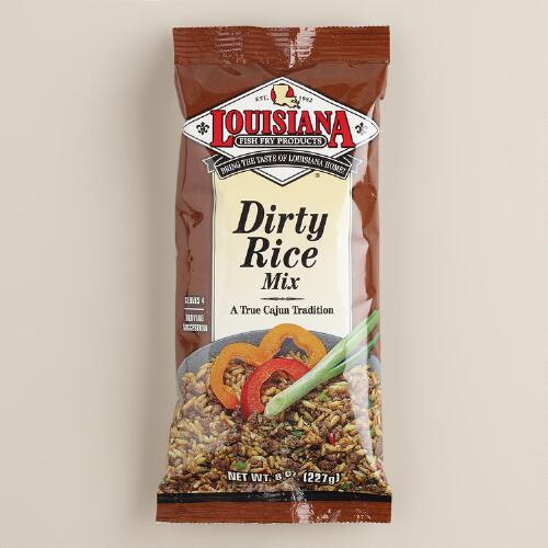 Louisiana Fish Fry Dirty Rice