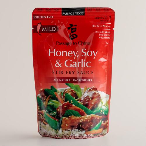 Passage Foods Honey, Soy and Garlic Sauce