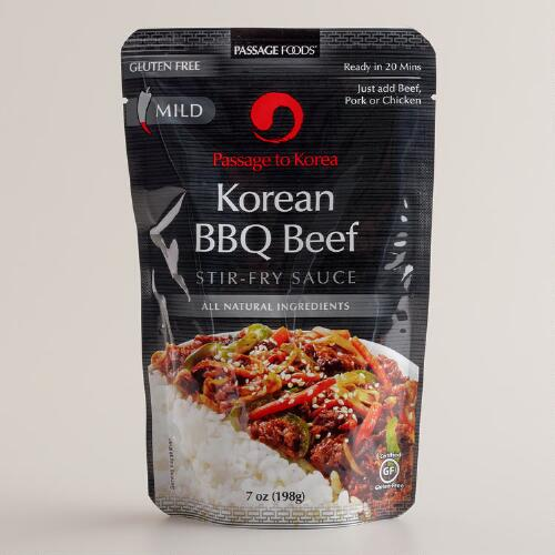 Passage Foods Korean Barbeque Beef Sauce