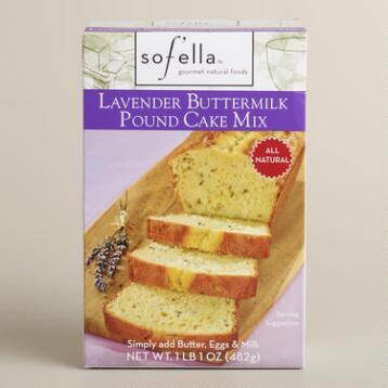 Sof'ella Lavender and Buttermilk Pound Cake Mix