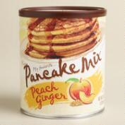 My Favorite Peach Ginger Pancake Mix