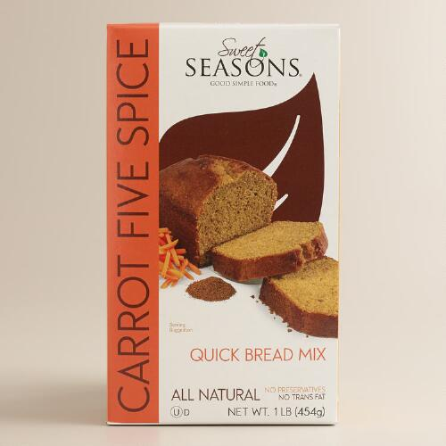 Sweet Season Carrot Five Spice Quick Bread Mix