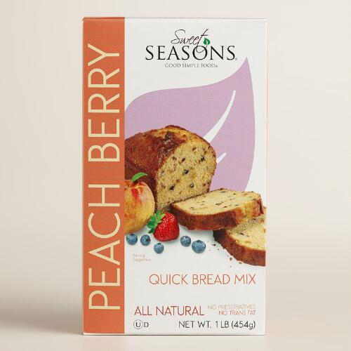 Sweet Season Peach and Berry Quick Bread Mix