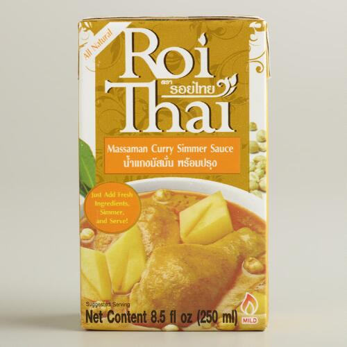 Roi Thai Massaman Curry Simmer Sauce