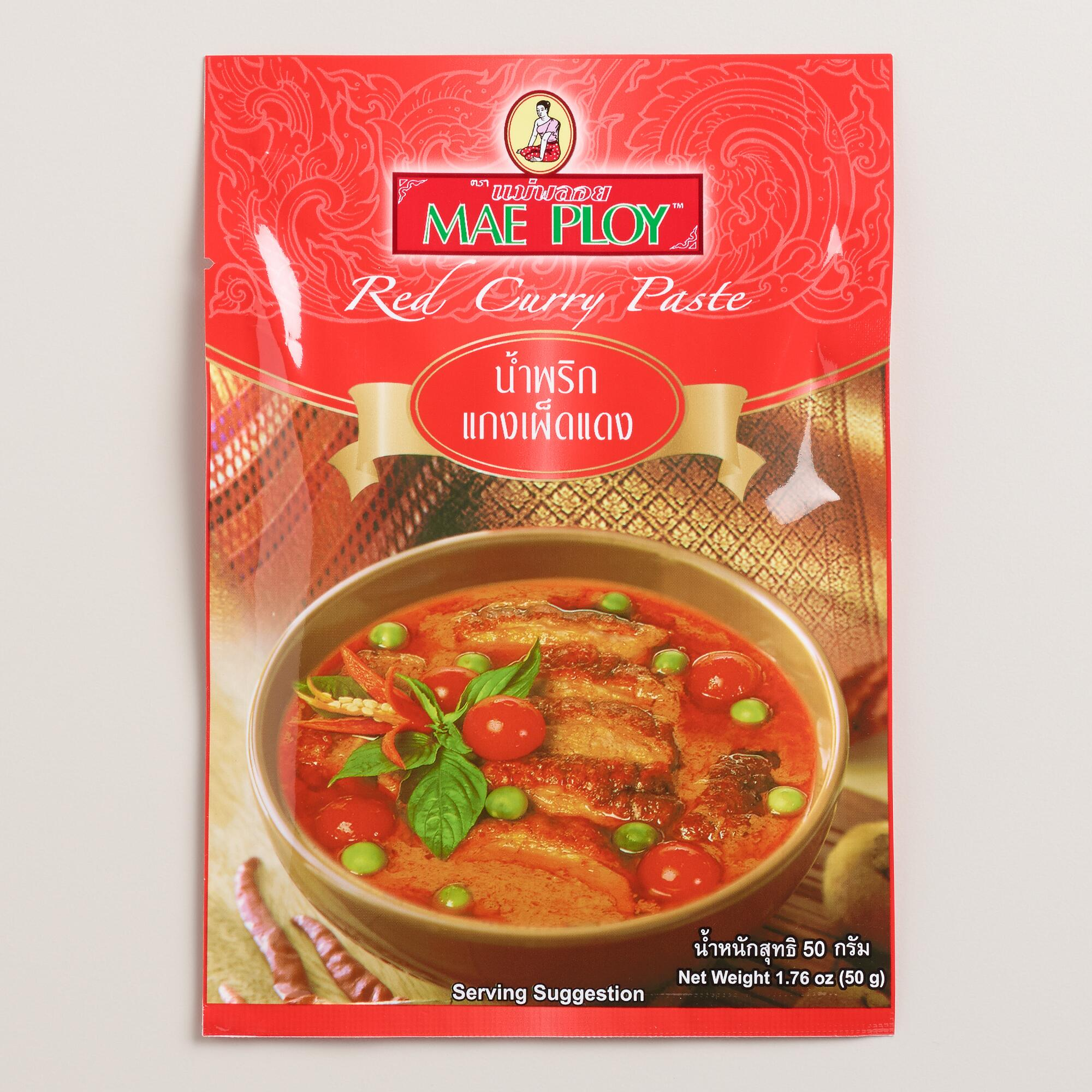 Mae Ploy Thai Red Curry Paste | World Market