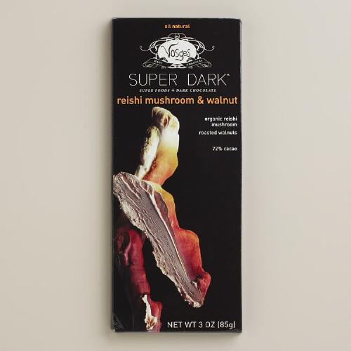 Vosges Reishi Mushroom Walnut Dark Chocolate Bar