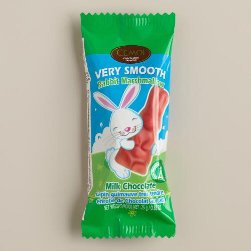 Cemoi Milk Chocolate Marshmallow Rabbits, Set of 3