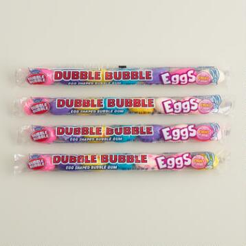 Dubble Bubble Gum Eggs, Set of 4