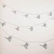 Wire Bird 10-Bulb String Lights