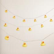 Rubber Ducky 10-Bulb String Lights