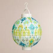 Ivory Aberdeen Battery-Operated Paper Lanterns, Set of 4