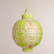 Summer Goddess Battery-Operated Paper Lanterns, Set of 4