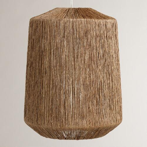 Natural Jute Hanging Pendant Lamp