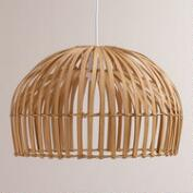Natural Bamboo Hanging Pendant Lamp