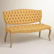 Honey Gold Emma Settee