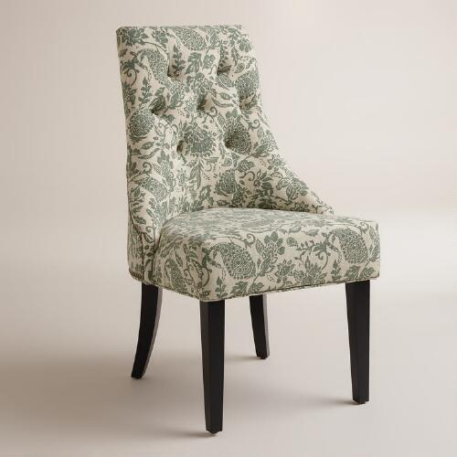 Bliss Paisley Lydia Chairs, Set of 2