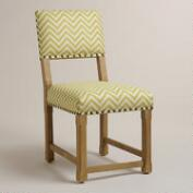 Citron Split Back Chair