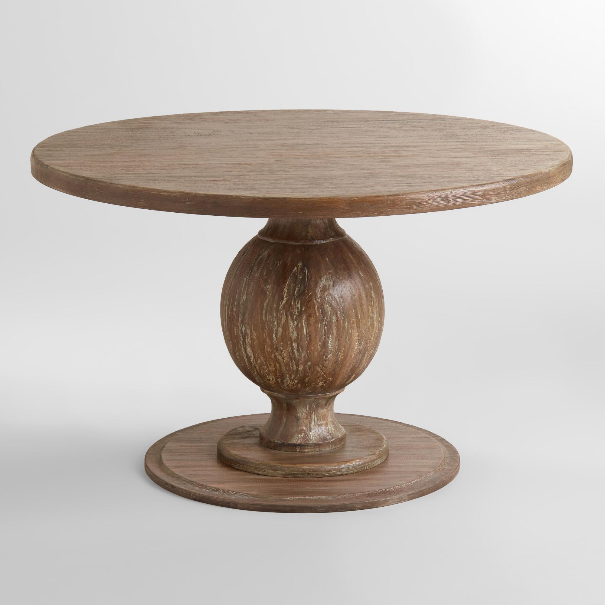 Round blanca table world market for Table circle