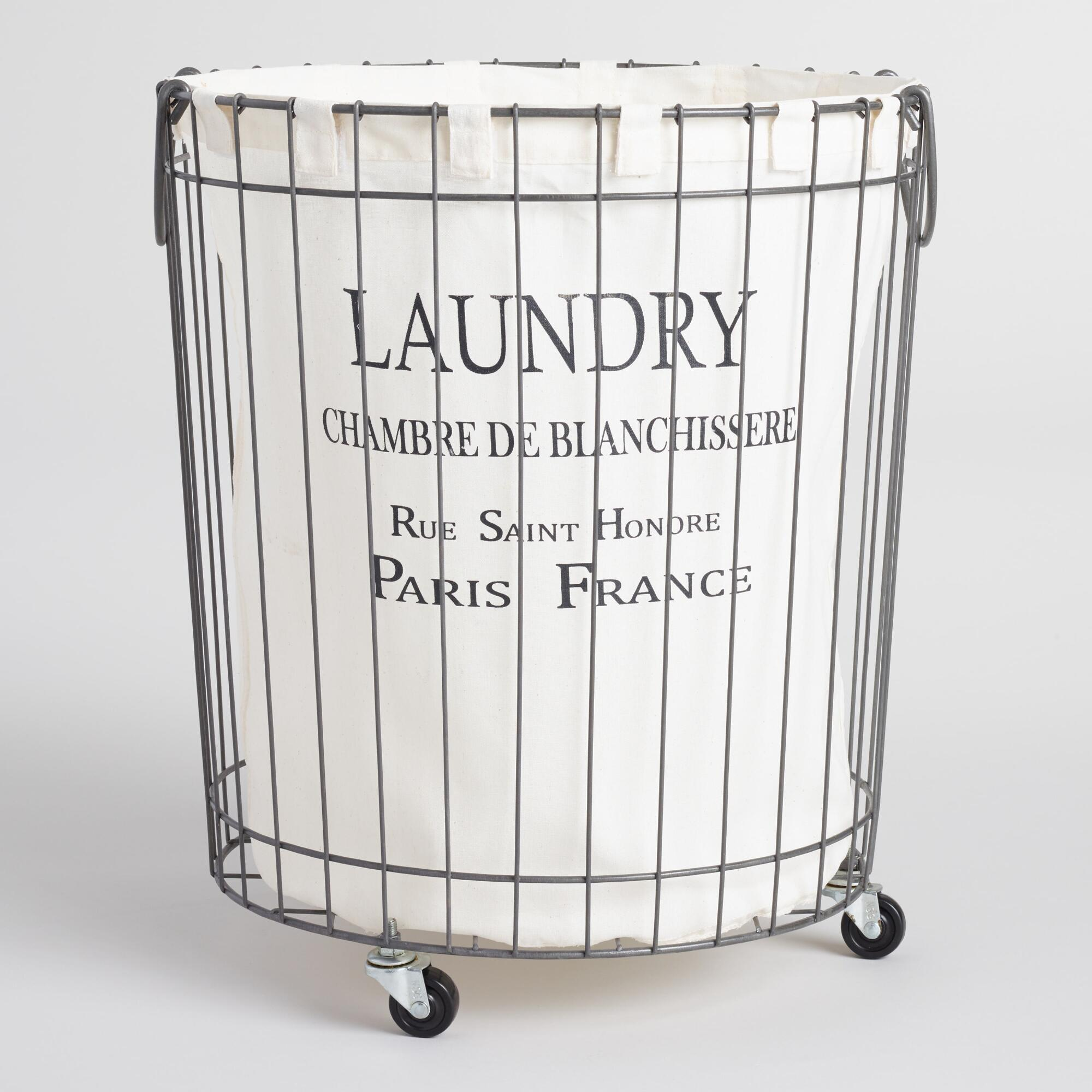 Our Hopeful Home French Wire Laundry Hamper For Less