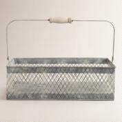 Rectangular Francine Wire Basket