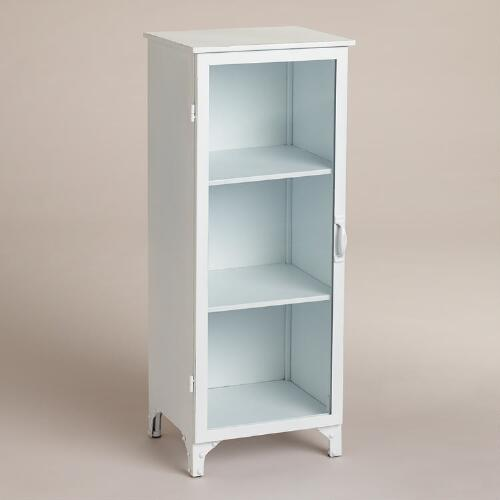 White Giselle Single Cabinet