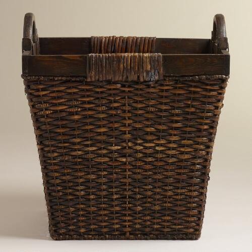 Square Margo Tote Basket