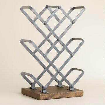 Reclaimed 8-Bottle Wine Rack