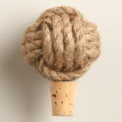 Jute Rope Wine Bottle Stopper