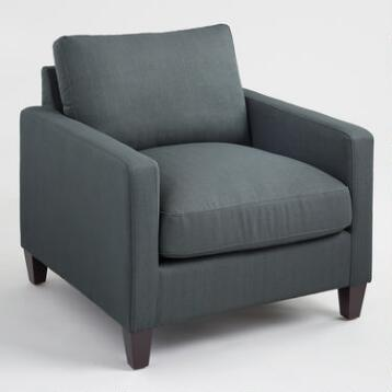 Charcoal Abbott Chair