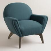 Blue Morrison Chair