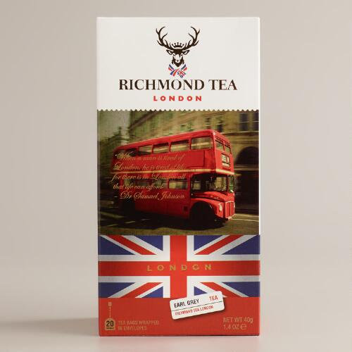 Richmond Tea Company Earl Grey Tea, 20-Count